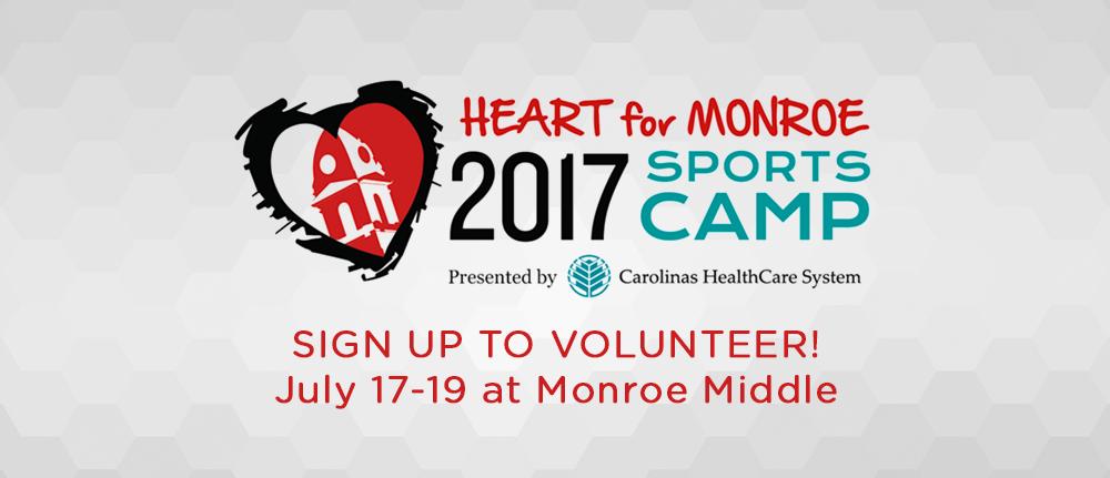 2017 Sports Camp Volunteers
